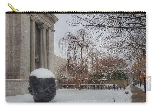Mfa Boston Winter Landscape Carry-all Pouch