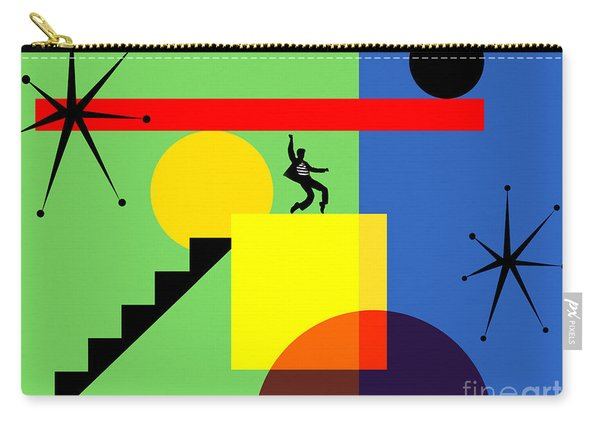 Mid Century Modern Abstract Elvis 20190106 Horizontal Carry-all Pouch
