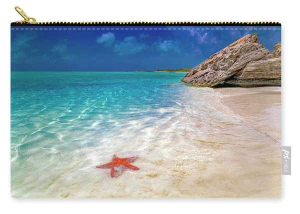 Middle Caicos Tranquility Awaits Carry-all Pouch