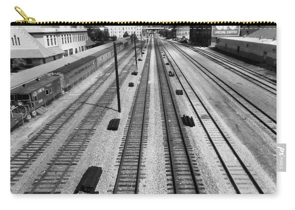 Middle Of The Tracks Carry-all Pouch