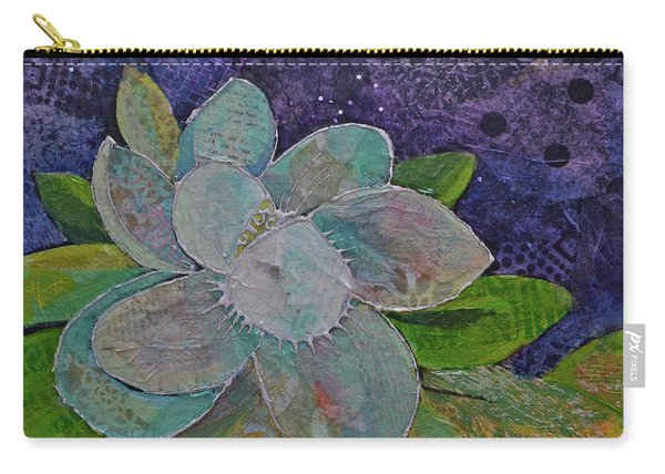 Midnight Magnolia I Carry-all Pouch