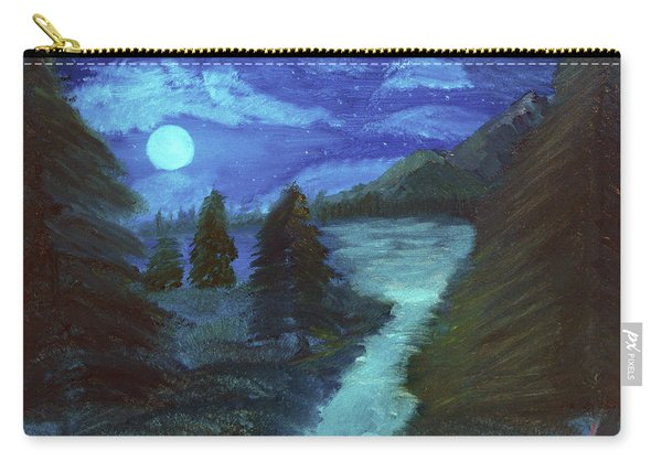Midnight River Carry-all Pouch