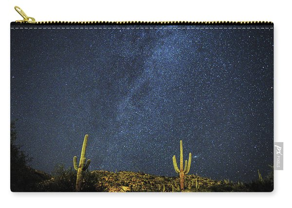 Milky Way And Cactus Carry-all Pouch