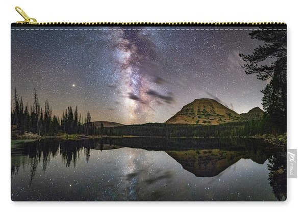 Milky Way At Mirror Lake Carry-all Pouch