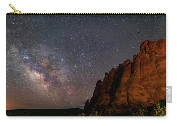 Milky Way At Navajo Rocks 2 Carry-all Pouch