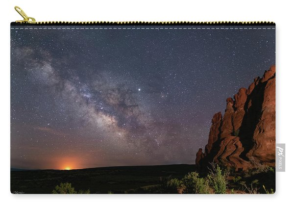 Milky Way At Navajo Rocks Carry-all Pouch