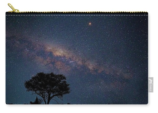 Milky Way Over Africa Carry-all Pouch
