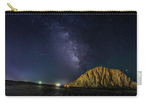 Milky Way Over Morro Rock Carry-all Pouch