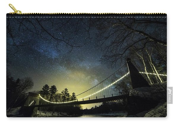 Milky Way Over The Wire Bridge Carry-all Pouch