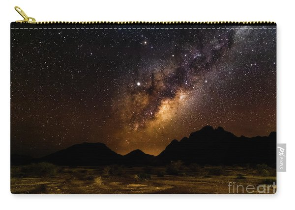 Milkyway Over Spitzkoppe 2, Namibia Carry-all Pouch