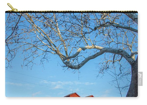 Mill And Tree Carry-all Pouch