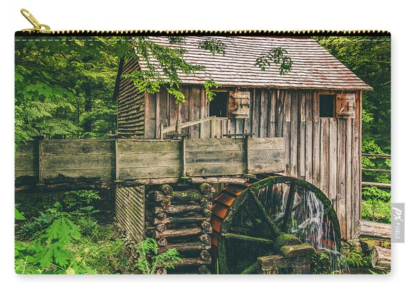 Mill At Cades Cove Carry-all Pouch