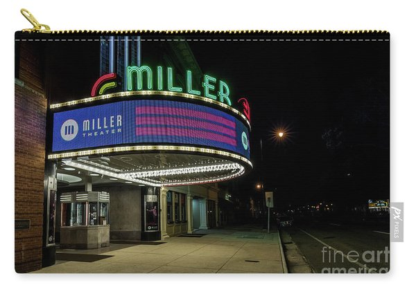 Miller Theater Augusta Ga 2 Carry-all Pouch