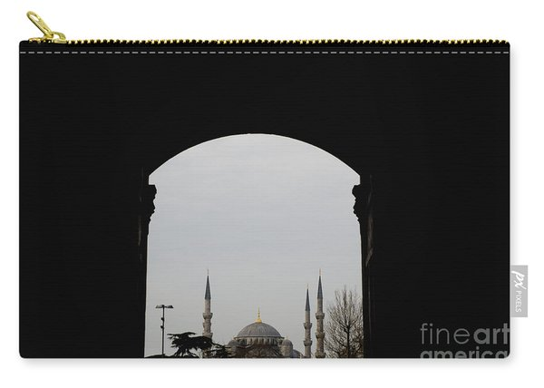 minarets in the city for the prayer of the Muslim religion Carry-all Pouch
