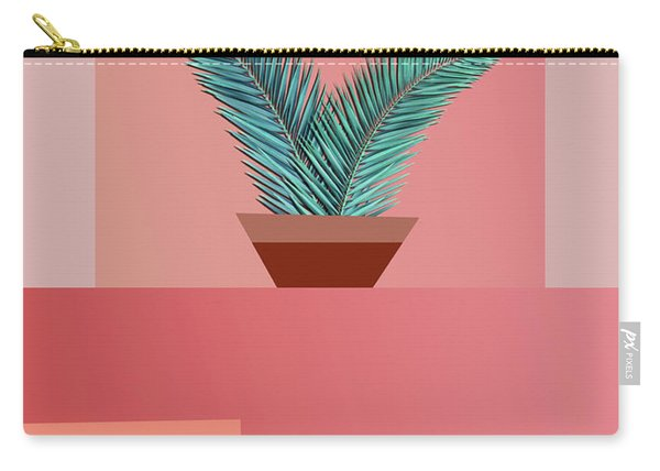 Minimal Tropic Carry-all Pouch