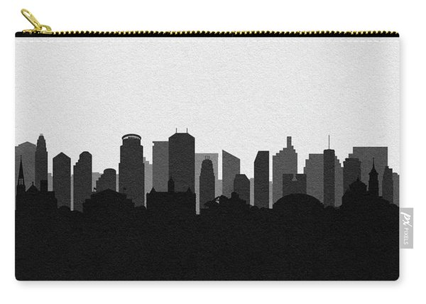 Minneapolis Cityscape Art V2 Carry-all Pouch