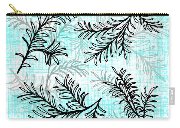 Miro Tree Branches Carry-all Pouch