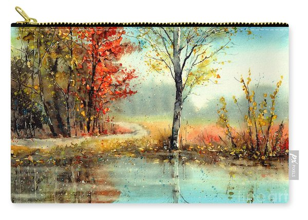 Mirror In The Lake Carry-all Pouch