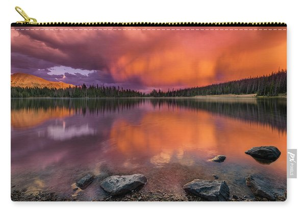 Mirror Lake Sunet Carry-all Pouch