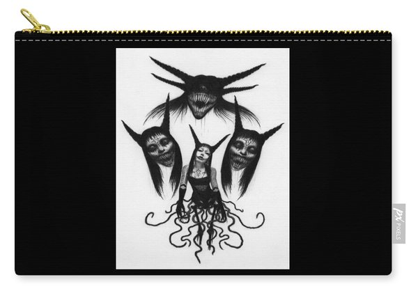 Miss Carnivorous - Artwork Carry-all Pouch
