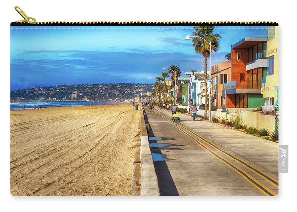 Mission Beach Boardwalk Carry-all Pouch