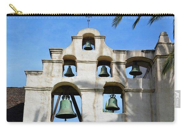 Mission San Gabriel Bells Carry-all Pouch