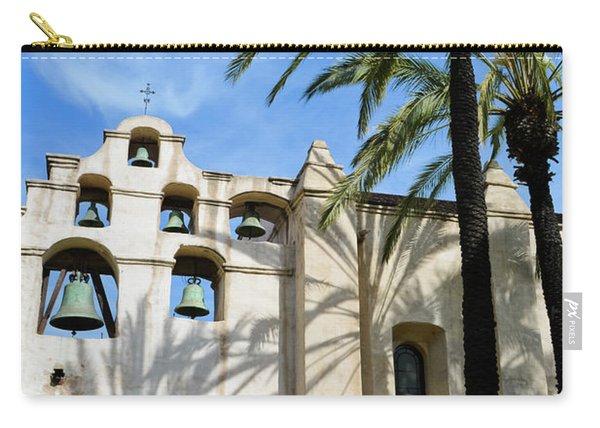Mission San Gabriel Portrait Carry-all Pouch