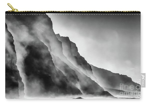 Mist On The Rocks Carry-all Pouch