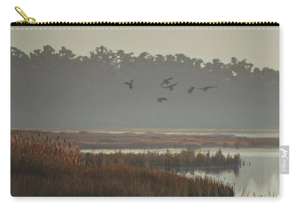 Misty Marsh Carry-all Pouch