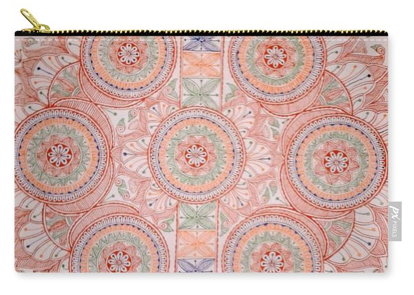 Mithila Painting Kobar Carry-all Pouch