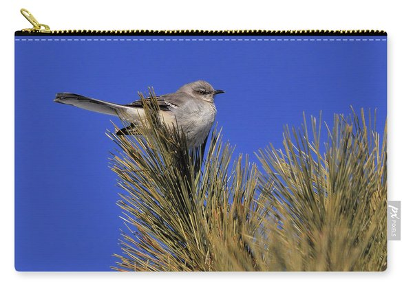 Mockingbird In White Pine Carry-all Pouch