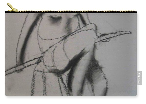 model named Chieh three Carry-all Pouch