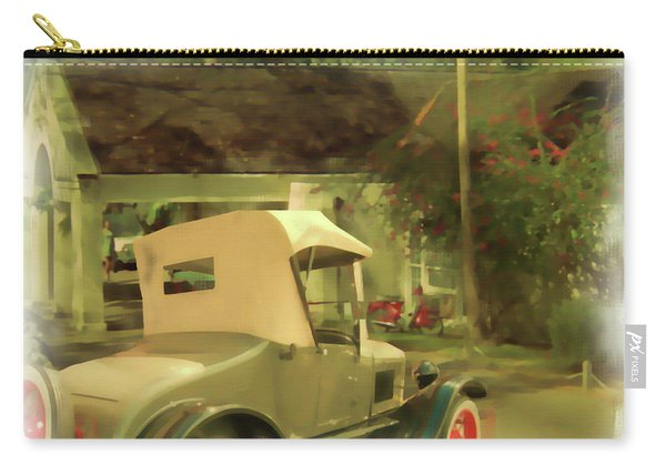Model T In Barbados Carry-all Pouch
