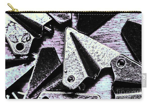 Modelled In Aerodynamics Carry-all Pouch
