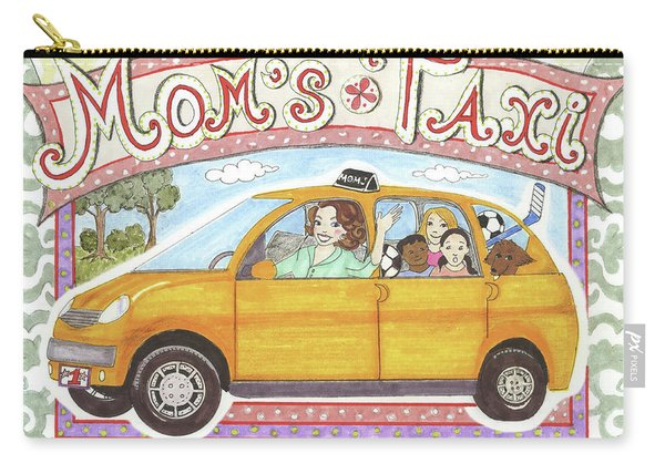 Mom's Taxi Carry-all Pouch