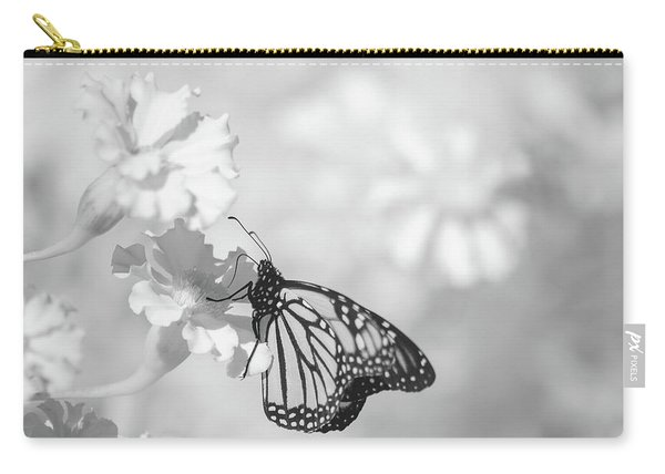 Carry-all Pouch featuring the photograph Monarch In Infrared by Brian Hale