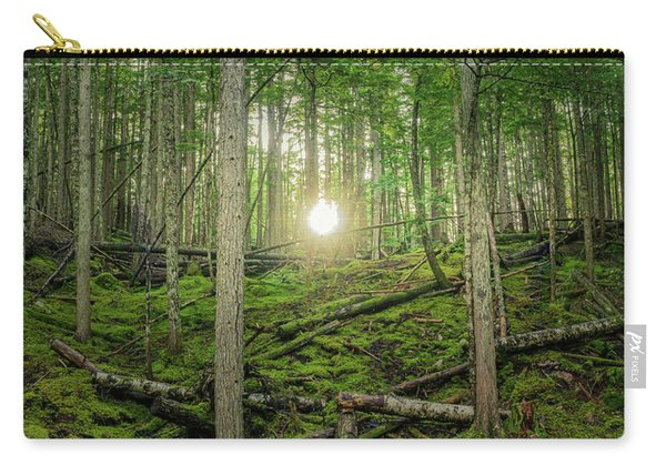 Monashee Forest Sunset Carry-all Pouch