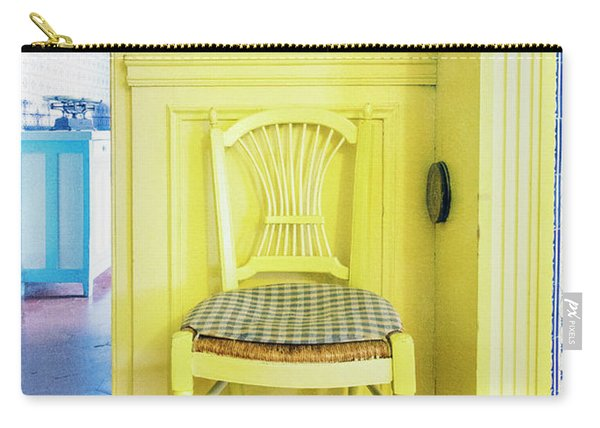 Monet's Kitchen Yellow Chair Carry-all Pouch