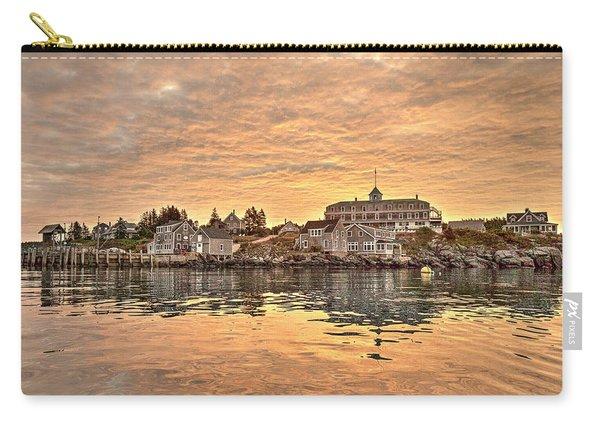 Monhegan Sunrise - Harbor View Carry-all Pouch