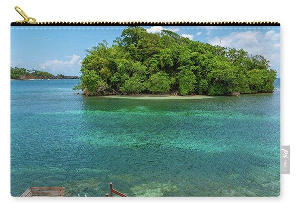 Monkey Island In Portland Jamaica Carry-all Pouch