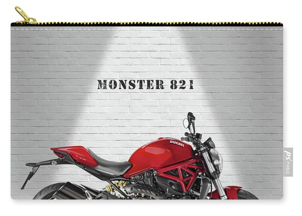 Monster 821 Carry-all Pouch