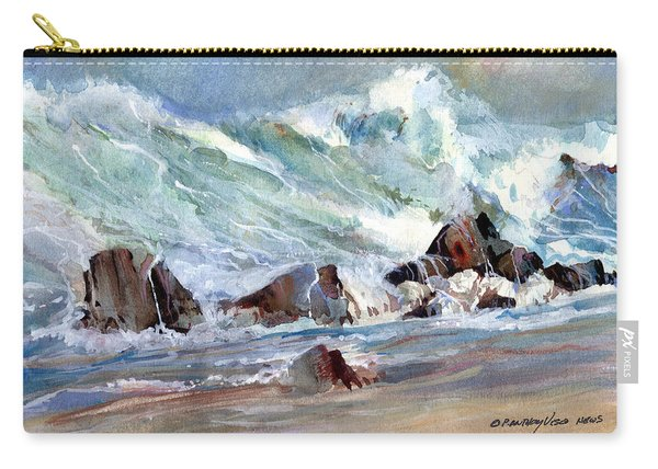 Monster Waves Carry-all Pouch