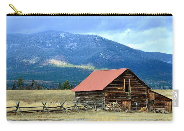 Montana Ranch Building Carry-all Pouch