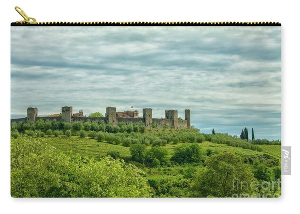 Monteriggioni In Tuscany Carry-all Pouch