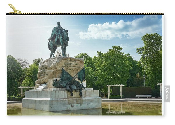 Monument To General Arsenio Martinez Campos In Madrid, Spain Carry-all Pouch