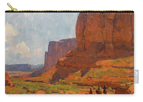 Monument Valley, Riverbed Carry-all Pouch