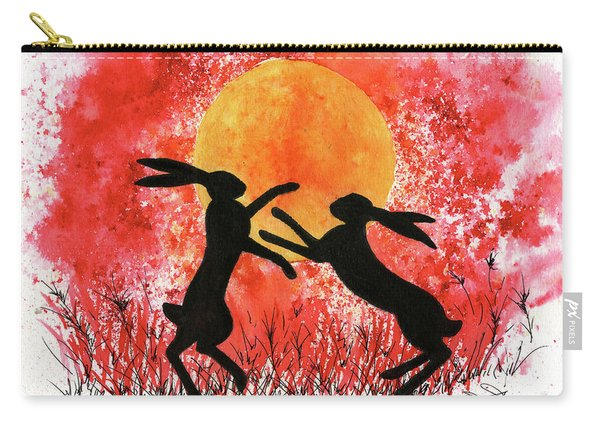 Moon Hares Carry-all Pouch