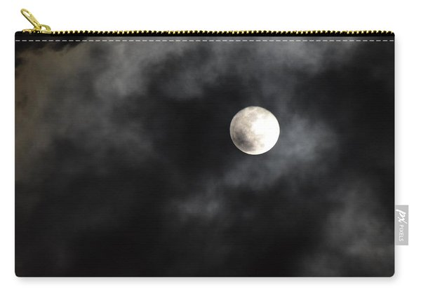 Moon In The Still Of The Night Carry-all Pouch