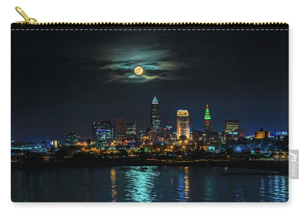 Moon Over Cleveland  Carry-all Pouch
