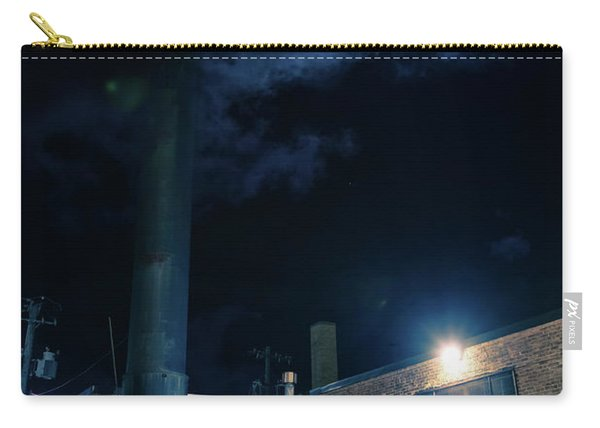 Moon Over Industrial Chicago Alley Carry-all Pouch